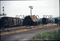 Aug 1971 Burlington Northern Wreck Pacific Jct Iowa VINTAGE 35MM SLIDE