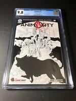 Animosity #2 Comic Mint Sketch Edition CGC 9.8 NM/MT