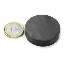 Super Magnete Disco in Ferrite dimensione 40 x 10 mm Potenza 2,4 Kg