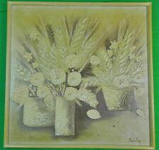 Vintage US Framed Signed Stephen Kaye Oil on Canvas Painting