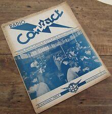 RADIO CONTACT N° 9 NOVEMBRE 1950