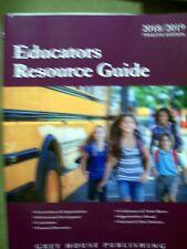 Educators Resource Guide 2018/2019 Twelfth Edition