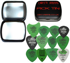 Dunlop Tortex Variety Pack - 24 x 0.88mm Guitar Picks / Plectrums In A Pick Tin