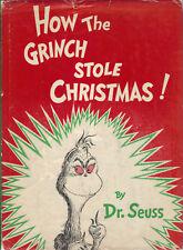 HOW THE GRINCH STOLE CHRISTMAS-SEUSS-1ST ED-1957-W/DJ-GREAT HOLIDAY GIFT-W/DJ!