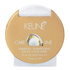 Keune Care Line Satin Oil Shampoo 250ml / 8.5 oz FREE SHIPPING WORLDWIDE