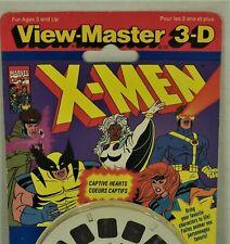 Vintage View-Master Reel Set - X-Men Captive Hearts - 1085 - Sealed - 1993
