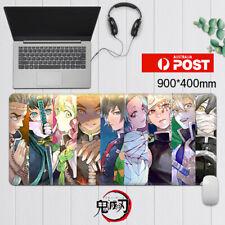 AU Anime Demon Slayer Kimetsu no Yaiba Pillars 90CM x 40CM Mouse Pad Mousepad