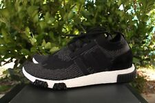 on sale 67ab2 05228 ADIDAS NMD RACER PK SZ 11 CORE BLACK GREY CLOUD WHITE PRIMEKNIT AQ0949