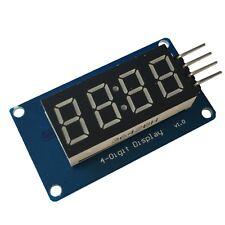 TM1637 4 Bit Digital Segment Anzeige Modul 4 Ziffern LED Display Clock Arduino