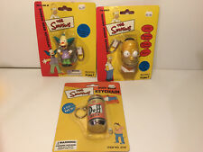LOT OF 3  SIMPSONS KEYCHAINS ~ NEW