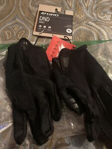 Giro Dnd Cycling Gloves Xl 10 Extra Large Black Seude
