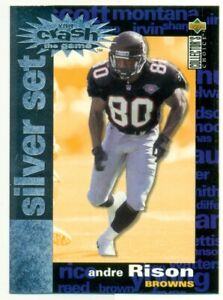 1995 Upper Deck Andre Rison #C25 Football Card OS2.
