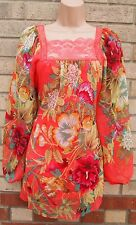 Unbranded Floral Lace Tunic Dresses for Women