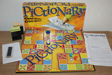 Pictionary Board Game - Quick Sketches, Crazy Guesses - Mattel 2010 - VGC