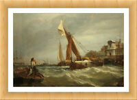 Tilbury Fort Wind Against Tide Stanfield Fine Art Print Canvas Print Poster 147
