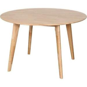 Belmont Round Dining Table - Natural