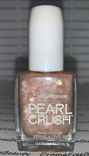 Sally Hansen PEARL CRUSH Nail Color 120 * SHE SELLS * Opal Pearl Shimmer Glitter