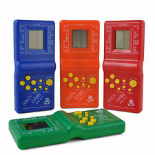 LCD Game Electronic Classic Vintage Tetris Brick Handheld Arcade Pocket Toys