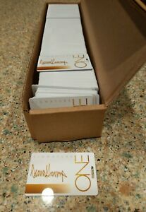 10 THE TRUMP ONE SIGNATURE CARD  BLANK no names or #s Collectors Piece FREE SHIP