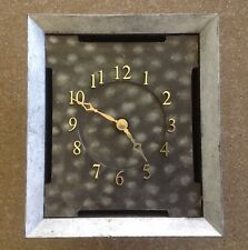 One Quartz Wall Clock Battery Operated Home Office, without second hand.