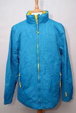 Weird Fish Juneau lightweight showerproof blue hooded cagoule shell jacket M 40