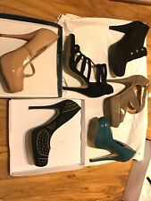 Lady Heel Bundle - Size 40-41 Assorted Colours Shoes Platforms- 7-10cm Well Worn
