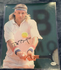 Bjorn Borg Signed Tennis Autographed 8x10 Photo Online Authentics Certified Holo