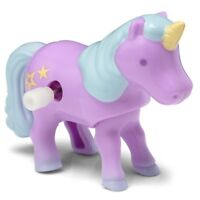 CLOCKWORK UNICORN - 21939 WIND UP CUTE KIDS MAGICAL TROTTING FUN TOY CREATURE