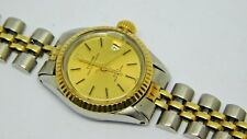 ROLEX TUDOR Princess OysterDate WATCH  For Woman Steel And Gold Case
