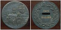 médaille bronze MONASTÈRE ROYAL DE BROU À BOURG-EN-BRESSE ( diametre 6,8 cm )