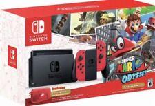 90708297 Nintendo Switch Schwarz Joy-con Rot Super Mario Odyssey (nintendo S