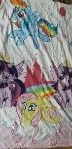 My Little Pony Reversible Single Duvet Cover & Pillow Case Set