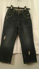boys size 7 relaxed straight  fit jeans, levis