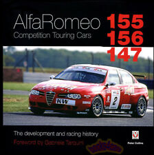 ALFA ROMEO 155 156 147 BOOK COMPETITION TOURING CARS COLLINS RACING PETER
