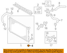 KIA OEM 12-17 Rio 1.6L-L4-Radiator Assembly Lower Insulator 253363X000