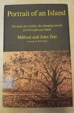 RARE Portrait of an Island by John and Mildred Teal 1964 First Edition HBDJ XLIB