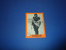 HORROR MONSTERS card #130 Nu-Cards 1961 orange series - monster sf movies