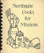 *GREENVILLE SC VINTAGE NORTHGATE COOKS FOR MISSIONS COOK BOOK *BAPTIST CHURCH