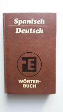 Wörterbuch spanisch-deutsch, Taschenbuch, Pappeinband 34000 Stichwörter