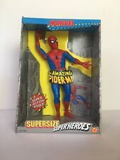 Spider-man ToyBiz 1991 Marvel SUPERSIZE SUPER HEROES MIB spiderman