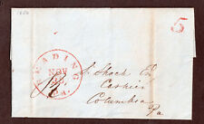 USA, Cover, Letter,  Reading PA, Colombia PA, Postmarked Nov 29,