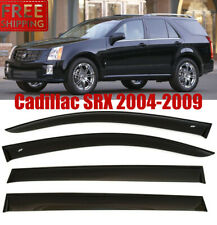For Cadillac SRX 2004-2009 Window Smoke Visor Rain Sun Guard Deflectors