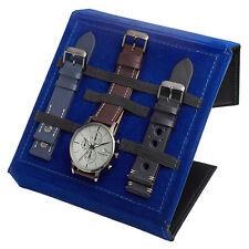 Men's Akribos XXIV AK1105 Quartz Interchangeable Strap Leather Pouch Set Watch