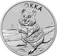 "*NEW* 2020 Australia Perth Mint 1 oz Silver Australian Quokka BU ""SHIPS TODAY"""