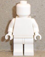 Lego Minifigur x 1 uni weiß Ref abc75