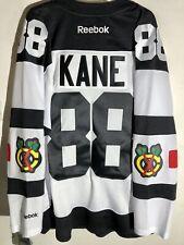 Reebok Alt Premier NHL Jersey Chicago Blackhawks Patrick Kane White sz L