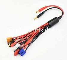 RC Multifunctional Lipo Battery Multi Charger Plug Convert Cable Transfer wire