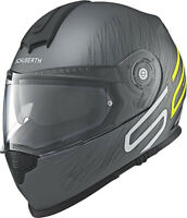 SCHUBERTH S2 SPORT DRAG YELLOW MOTORCYCLE HELMET - X-LARGE **SAVE £180**