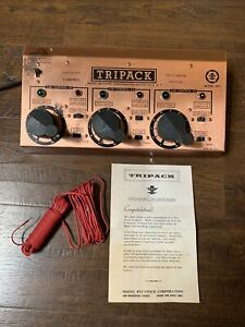 Model Rectifier Corp Model Tripack Gauge Power Master Switch Mrc 801 Non Working