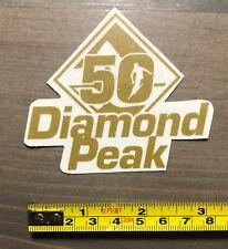 Diamond Peak Sticker Mountain Ski Resort Decal Nevada Lake Tahoe Snowboard